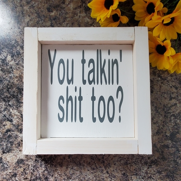 Hand Crafted | Humorous Sign (Wall art/Decor)